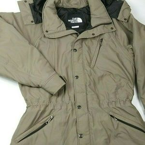 The North Women Small Hooded Gathered Jacket